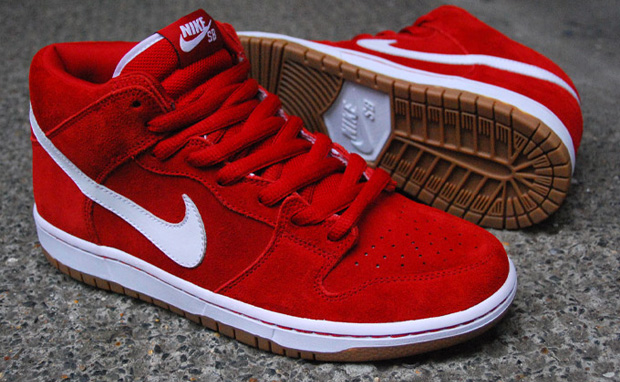 the best attitude 949c5 fccdb nike-sb-dunk-mid-pro-red-white